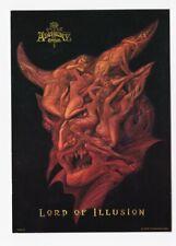 ALCHEMY GOTHIC carte postale n° PC9515 éditée en 2005 LORD OF ILLUSION