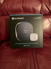 ecobee4 Wi-Fi Thermostat with Room Sensor and Built-In Alexa Voice Service