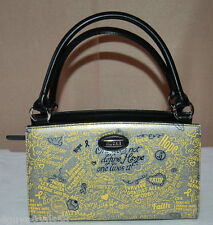 Miche Classic Purse SHELL ONLY Fits Classic Bag HOPE SILVER Cancer Survivor