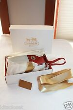 Authentic Coach Leather Wrislet Mini Bag - New with Gift Box & Ribbon -RARE!