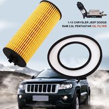 11-13 for Chrysler Jeep Dodge Ram 3.6L Pentastar Oil Filter & Gasket