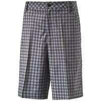 Puma Golf Essential Solid & Plaid Check Shorts RRP£50 - W28 - W32 1st Class Post