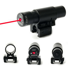 Tactical Hunting Red Dot Laser Sight Scope Adjustable Picatinny Rail for Pistol