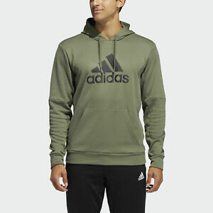 adidas Men's Badge of Sport Fleece Hoodie GM8646