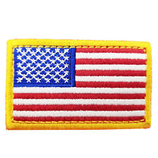 Usa American Flag Tactical Us Army Morale Patch Military Badge Hook