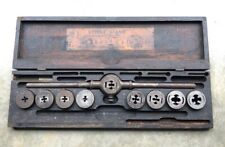 Vintage Antique Greenfield Little Giant No.7 Tap And Die Set