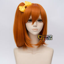 35CM Anime for Love Live! Kousaka Honoka Orange Straight Ponytail Cosplay Wig