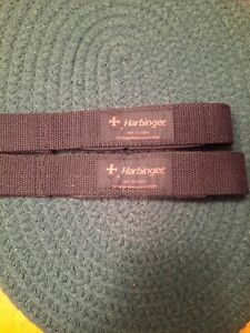 Harbinger weight lifting Straps Red EUC