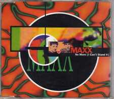 Maxx - No More (I Can't Stand It) - CDM - 1994 - Eurodance Scandinavian Release