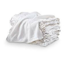 1000 Industrial Shop Rags / Cleaning Towels White