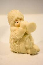Sitting Angel With Trumpet Snowbabies Porcelain Classic Figure