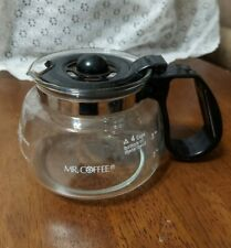 Mr Coffee Replacement Glass Carafe With Lid For 4 Cup Pot For NL5 Coffee Maker
