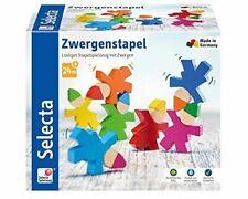 Zwergenstapel, Stapelspielzeug aus Holz, 7 Stück (Selecta 62039)
