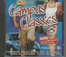 RARE SOUTH AFRICA CD CAMPUS CLASSICS 3 DEPECHE MODE MADNESS ADAM ANT ERASURE ++