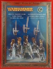 Warhammer-GW, Citadel - 87-15 High Elf Phoenix Guard (Comme neuf, SEALED)