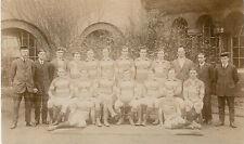 St Mark's College, London team 1913-14 vintage rugby postcard ???