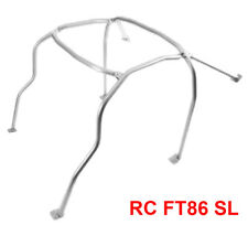 6 Point Anti Roll Cage for 2013-2015 Subaru BRZ/Scion FR-S Silver