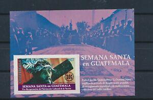 LO40292 Guatemala Jesus Christ religious art good sheet MNH