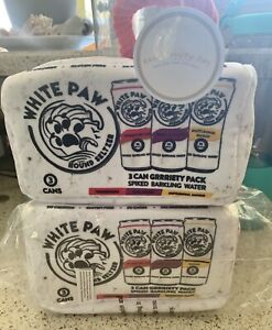 White Paw Beer Bark Can Case 3pk Small Cans White Claw