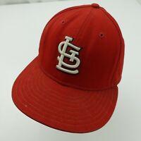 St Louis Cardinals New Era Ball Cap Hat Fitted 7 5/8 Baseball Adult