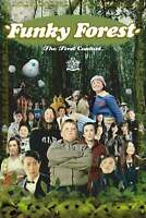 FUNKY FOREST DVD! REMOVABLE ENGLISH SUBS OOP! RARE! DISC ONLY