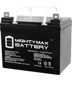 Mighty Max ML35-12 - 12V 35AH SLA Battery - Never Opened - Brand New