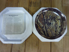 1994 Woodland Retreat by David Wenzel, Northwoods Spirit Collection Plate