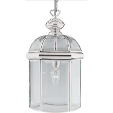 Searchlight Lighting 5131CC Chrome Hall Lantern