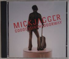 MICK JAGGER: Goddess in the Door Way PROMO ADVANCE Rare Rolling Stones CD
