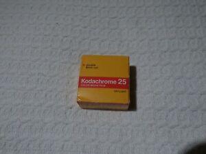 Vintage Kodak Kodachrome 25 Double 8mm Roll Cine Movie Camera Film