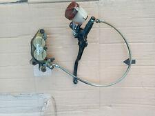 cagiva mito 125 8p 1991 front brembo brake caliper braided pipe master cylinder