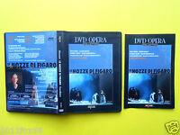 dvds,teatro,mozart,le nozze di figaro,les noces de figaro,the marriage of figaro