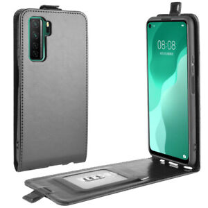 """For Huawei Nova 7 SE 6.5"""" Vertical UP Down Flip Leather Cover Case"""
