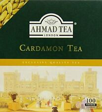 Ahmad Tea Cardamom Tea 100 Teabags Premium Quality Tea