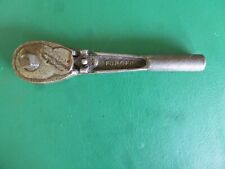 Vintage Craftsman Be Forged 38 Drive Knurled Handle Male Drive Ratchet Usa