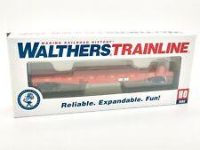 Illinois Central Gulf Flatcar #960214 HO - Walthers Trainline #931-1606