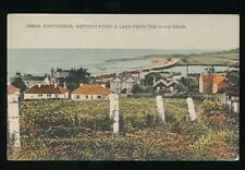 Somerset PORTISHEAD Battery Point from Nore Rd c1920/30s? PPC