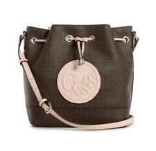 ★ GUESS* Angelea Logo Monogram Bucket Crossbody Bag ★