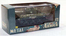 dd CDC Metal Collection Armour US Army M4-A2 Sherman Tank 76mm WWII 1/72
