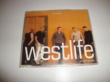 WESTLIFE - If I Let You Go CD SINGLE Promo RADIO EDIT