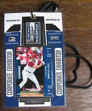 Casey Kotchman 2005 National Sports Collectors Convention Playoff Corporate Pass