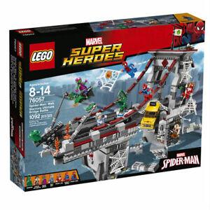 New Genuine Lego Spider-Man 76057 Web Warriors Ultimate Bridge Battle