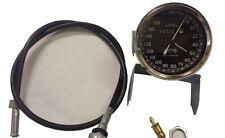 Smiths Velocímetro 160km Con Cable Royal Enfield Bsa Norton Réplica Nueva