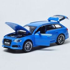 HOT AUDI RS6 SUV Metal Alloy Diecast Model Pull Back Car LED Toy Kids gift