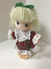 Preciuos Moments Doll On Stand Peace On Earth Small Rag Dolls