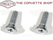 C3 Corvette Seat Back Pivot Hinge Bolt Pair 1970L-1973 x2233