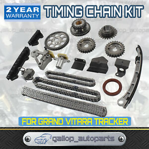 Timing Chain Kit w/ Gears for Suzuki V6 24 Valve Grand Vitara  2.5L H25A 99-05