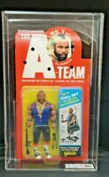 Vintage The A-Team B.A. Baracus Mr T Action Figure Galoob 1983. MOC Graded 75%