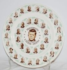 Home Laughlin Presidents of the United States ~ President John F. Kennedy Plate