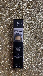IT Cosmetics Bye Bye Under Eye Waterproof Concealer-22.5 Medium Honey-0.40oz NIB